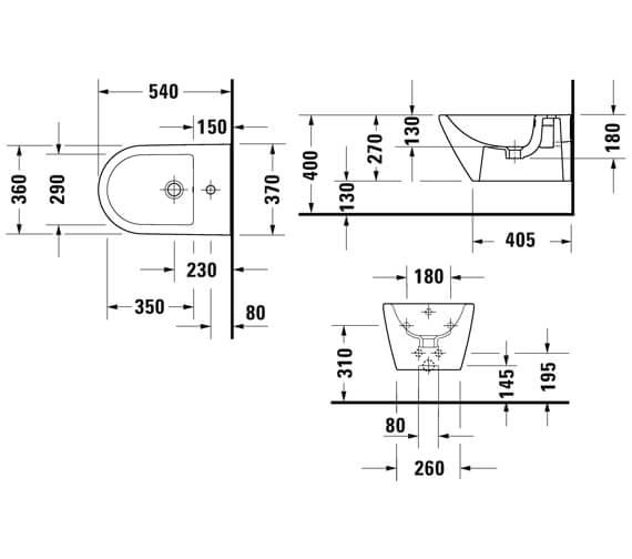 Technical drawing QS-V104554 / 2295150000