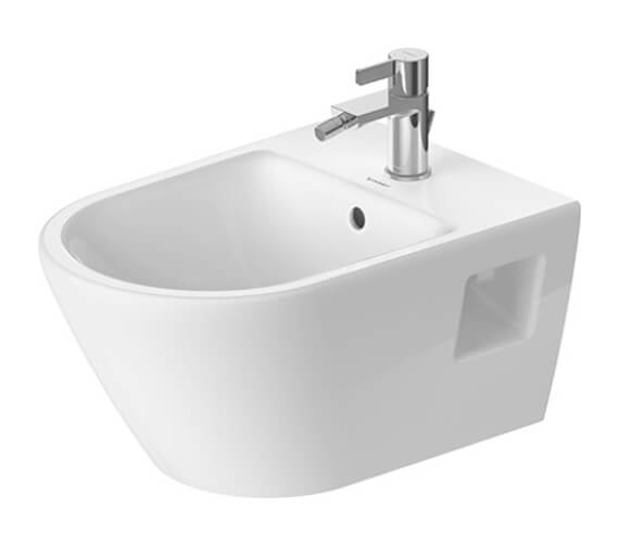 Duravit D-Neo 540mm Projection Wall Mounted Bidet