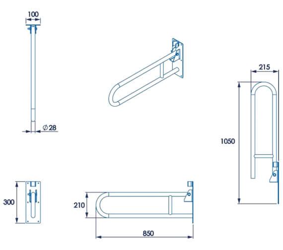 Technical drawing QS-V105843 / AP502831