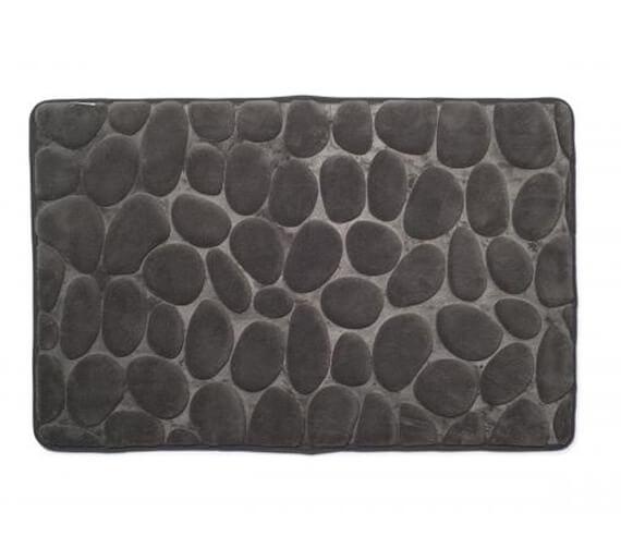 Croydex 800 x 500mm Pebble Memory Foam Bath Mat