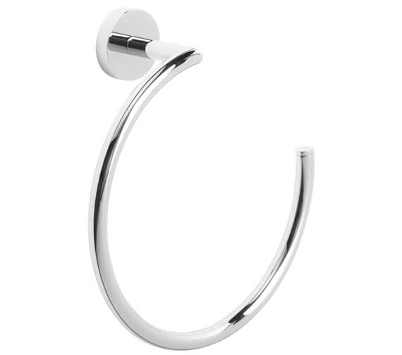 Roper Rhodes Venue Wall Mounted Chrome Towel Ring