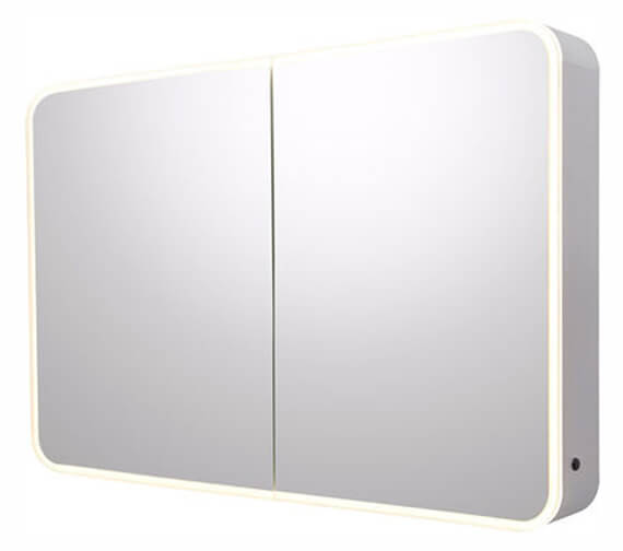 Additional image of Roper Rhodes System Illuminated Double Door Mirror Cabinet