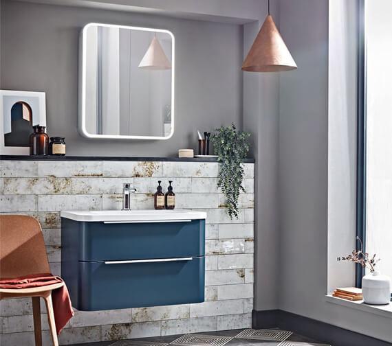 Roper Rhodes System Illuminated Double Door Mirror Cabinet