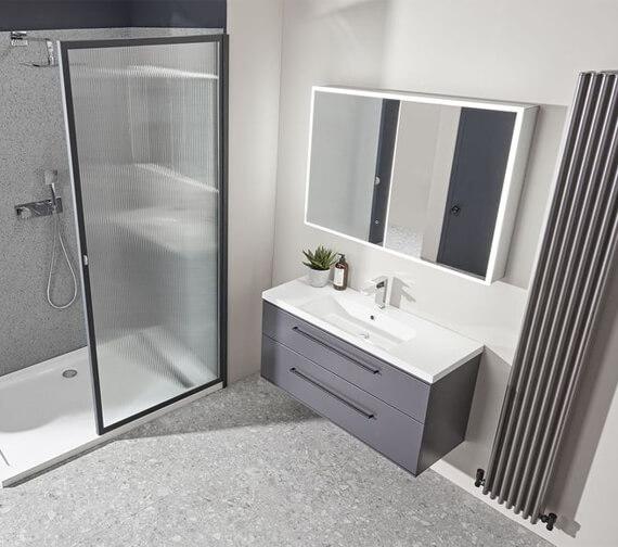 Roper Rhodes Presence Double Door Mirror Cabinet