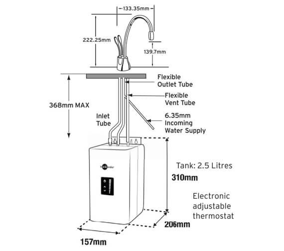 Technical drawing QS-V95974 / HC1100C