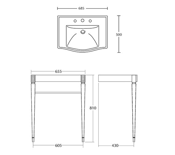 Technical drawing QS-V16496 / ZXBS1220100