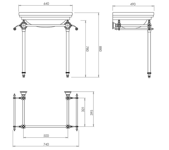 Technical drawing QS-V73506 / ZXBS2600100