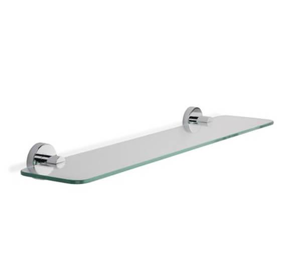 Croydex Flexi-Fix Metra Chrome Glass Shelf