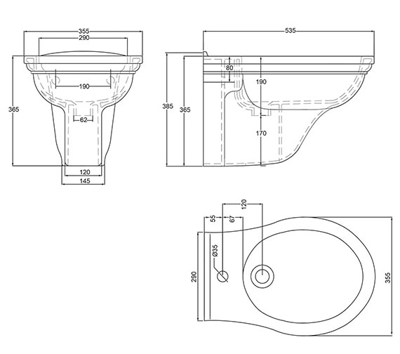 Technical drawing QS-V17692 / DR1BH11030