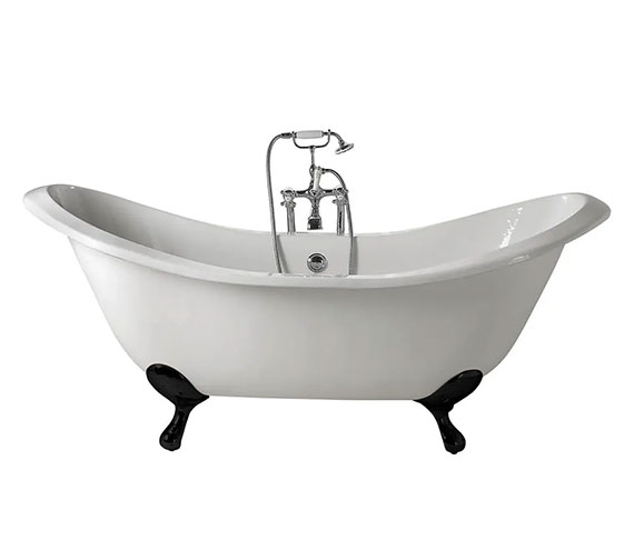 Additional image of Imperial Sheraton 1800mm Slipper Bath With Ball G And H Or Lion Feet