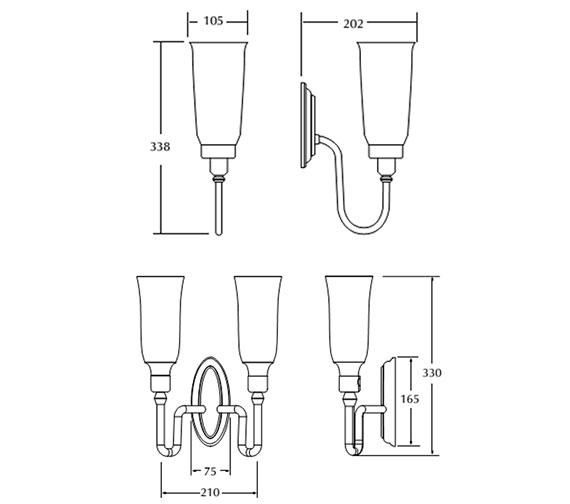 Technical drawing QS-V40740 / XLP1000400