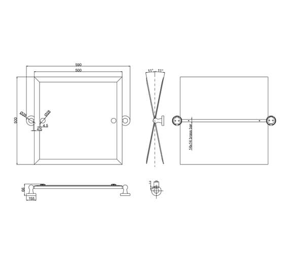 Technical drawing QS-V106101 / A40CHR