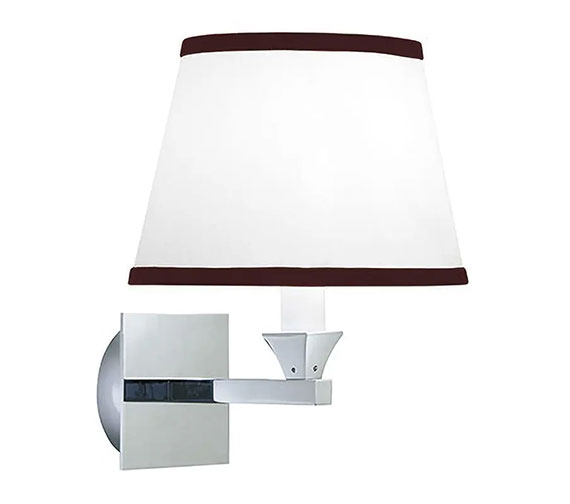 Imperial Astoria Wall Lamp With Black Fabric Shade - XLP1000900
