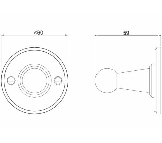 Technical drawing QS-V106102 / A14GOLD