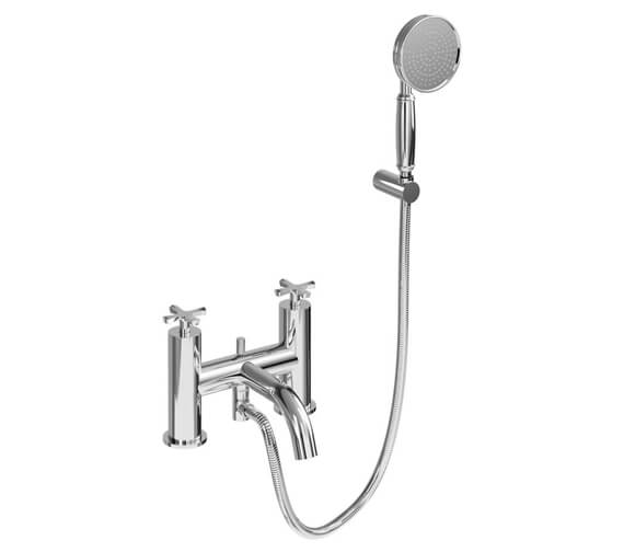 Burlington Riviera Bath Shower Mixer Tap With Kit