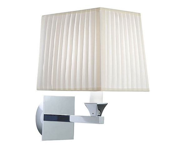 Alternate image of Imperial Astoria Wall Lamp With Black Fabric Shade - XLP1000900