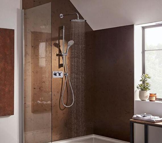 Roper Rhodes Aim Dual Function Shower Set With Shower Head And Riser Rail