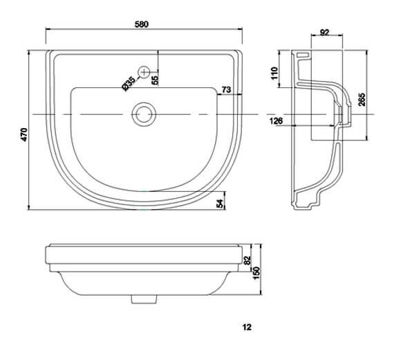 Technical drawing QS-V101451 / RIV51TH