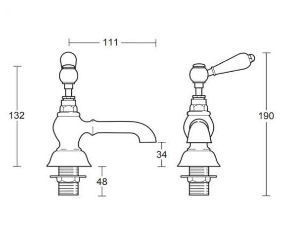 Technical drawing QS-V104129 / ZRADB02100