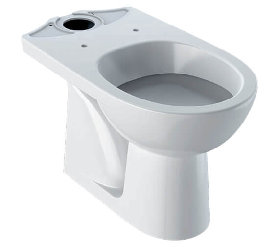 Geberit Selnova Floor-Standing Close-Coupled WC Pan Vertical Outlet