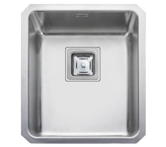 Alternate image of Rangemaster Atlantic Quad Stainless Steel 1.0B Undermount Sink