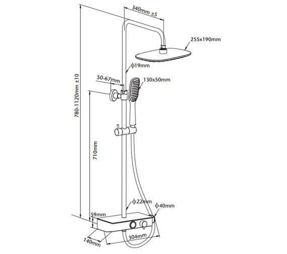 Technical drawing QS-V104578 / PBDIVCHR