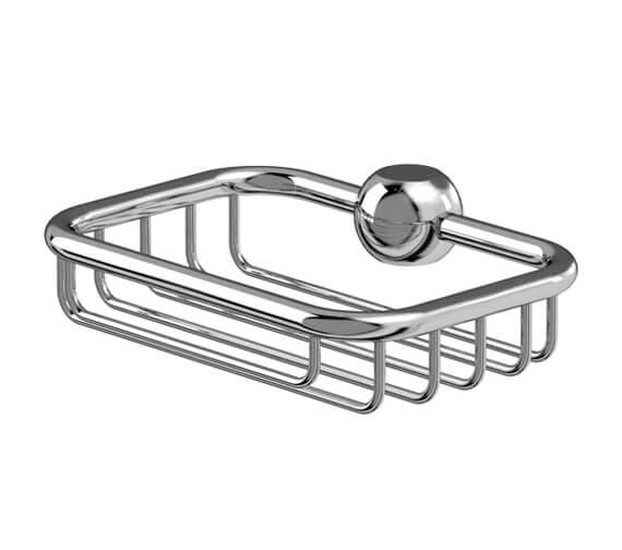 Burlington Soap Basket For Vertical Riser Rail