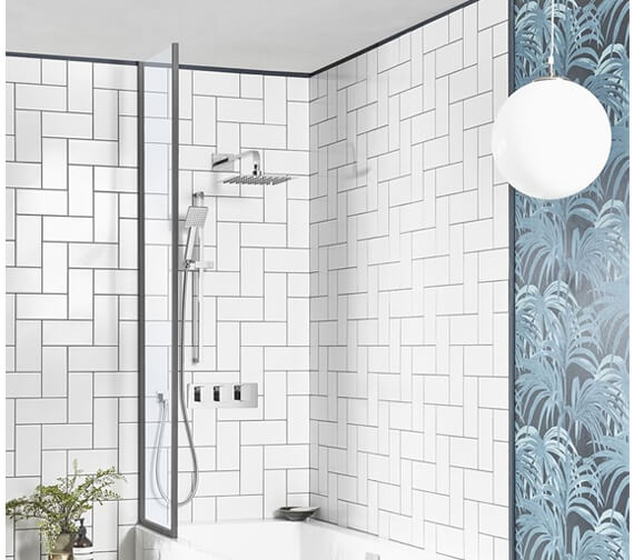 Roper Rhodes Elate Dual Function Shower Set With Shower Head And Handset