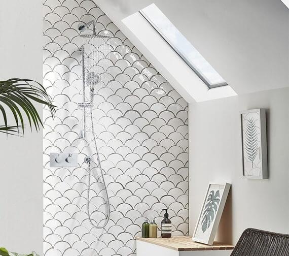 Roper Rhodes Verse Triple Function Shower Set With Bath Filler