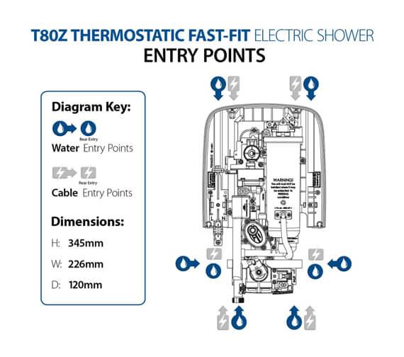 Technical drawing QS-V104454 / SP8008ZFFTHM