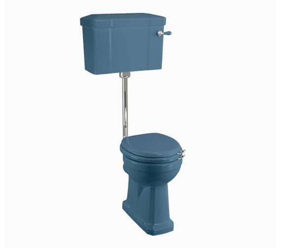 Burlington Bespoke 720mm Standard Low Level WC With Lever Cistern