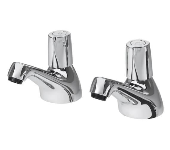 Triton Exe Chrome Pair Of Bath Taps