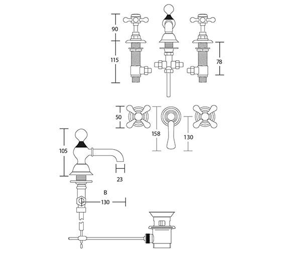 Technical drawing QS-V104133 / ZVIC09100