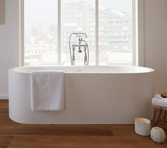 Imperial Lady Margaret Freestanding Bath 1800 x 820mm