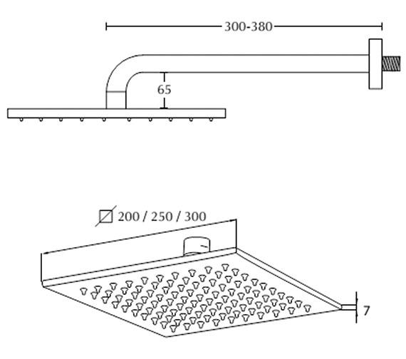 Technical drawing QS-V104139 / ZXM83500100