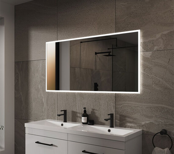 Sensio Glimmer Pro Dimmable Mirror With Diffused LED Border