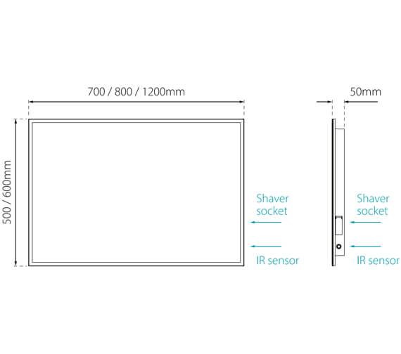 Technical drawing QS-V88734 / SE30726P0