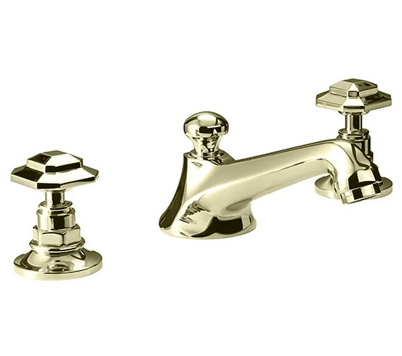 Additional image of Imperial Niveau 3-Hole Basin Mixer Tap