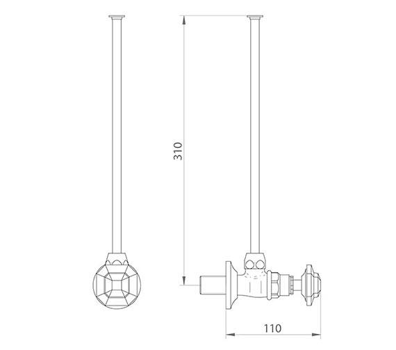 Technical drawing QS-V44037 / ZXT6046100