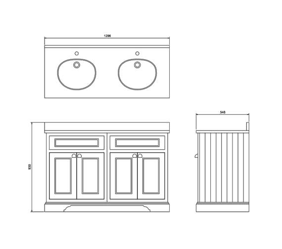 Technical drawing QS-V83748 / FC9W