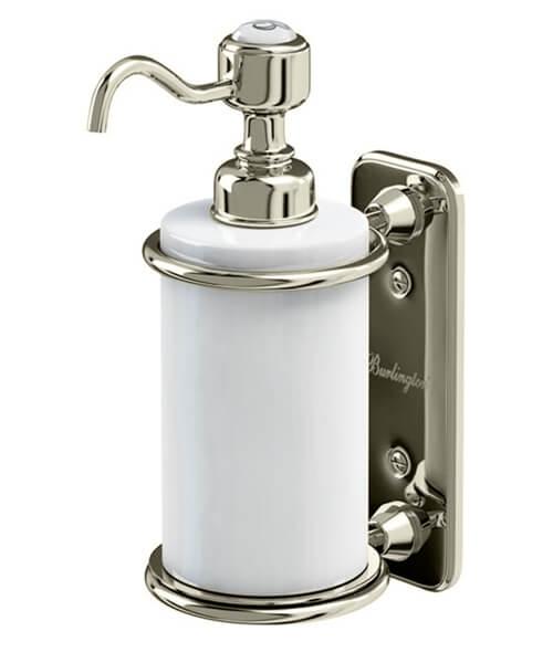 Additional image of Burlington Wall Mounted Single Soap Dispenser
