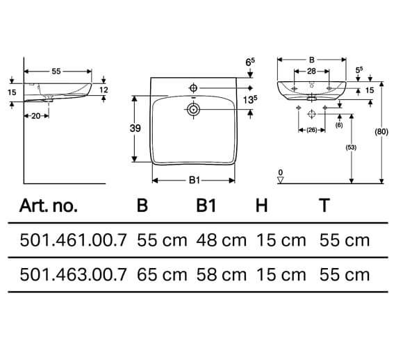 Technical drawing QS-V10216 / 501.461.00.7