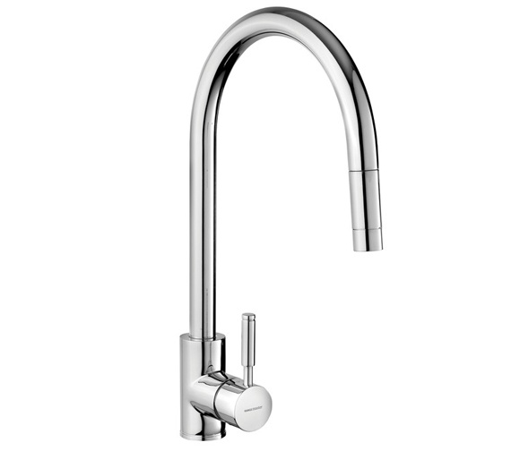Rangemaster Aquatrend Pull Out Kitchen Sink Mixer Tap Single Lever