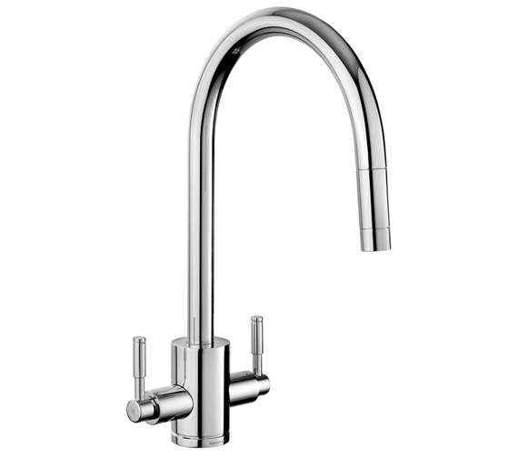 Additional image of Rangemaster Aquatrend Pull Out Kitchen Sink Mixer Tap Single Lever
