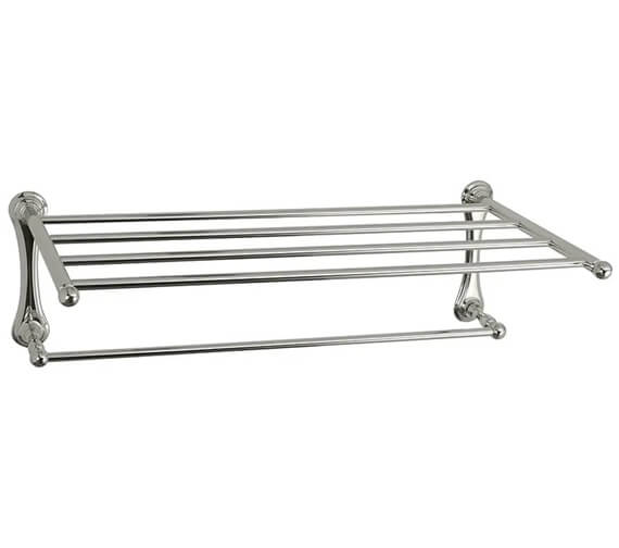 Additional image of Imperial Richmond Wall-Mounted Towel Shelf 607 x 300mm