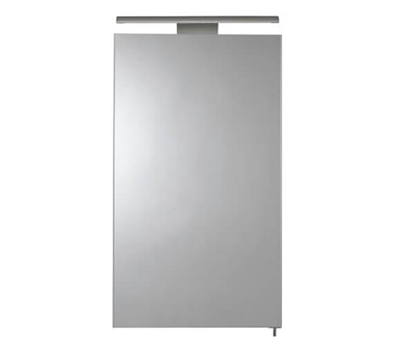 Croydex Hang N Lock Jefferson Single Door Illuminated Mirror Cabinet