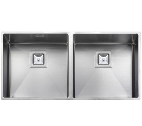 Rangemaster Atlantic Kube 2.0 Bowl Stainless Steel Undermount Kitchen Sink