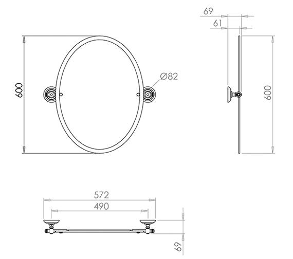 Technical drawing QS-V44254 / ZXBWM008100L