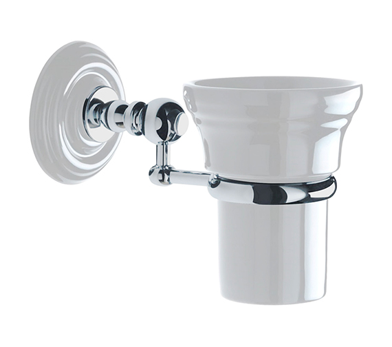 Imperial Cambridge Or Oxford Wall-Mounted Tumbler And Holder