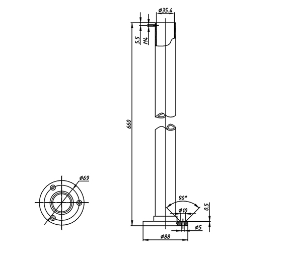 Technical drawing QS-V106601 / ZXS68000700